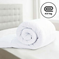 Deep Sleep Hotel Quality Duvet Quilt Hollowfibre 4.5 Tog Single Double King Size