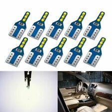 Bright Led Bulb 10pc T10 W5W Super 6SMD COB Chips 194 168 WY5W 168 501 2825 Auto