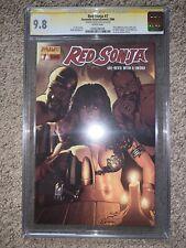Red Sonja (Dynamite) #7A 2006 CGC 9.8 SS Adam Hughes Comic NM/MT