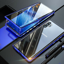 Magnetic Adsorption Case For Samsung Note 10 + Plus Double Sided Tempered Glass