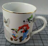 Mickey Mouse Parade Coffee Tea Cup Mug Japan Vintage Walt Disney Productions
