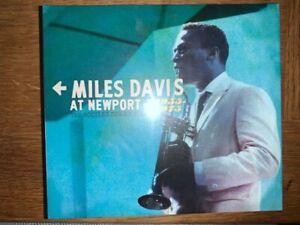 MILES DAVIS - AT NEWPORT 1955 - 1975 BOX SET SONY 4CD