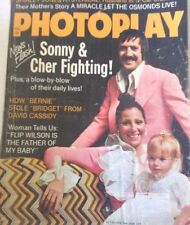 Photoplay Magazine Sonny & Cher FightingFebruary 1973 080217nonrh