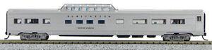 N Budd Passenger Mid Train Dome Chicago Burlington & Quincy (1-041355)
