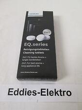 SIEMENS Original Reinigungstabletten TZ80001 für EQ Serie Einbauvollautomaten