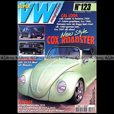 SUPER VW N°123 BEETLE COCCINELLE KARMANN-GHIA TYPE 14 COMBI SPLIT 1999