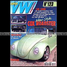 SUPER VW N°123 BEETLE COCCINELLE KARMANN-GHIA TYPE 14 COMBI SPLIT 1999