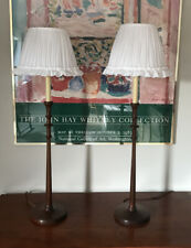Handmade White Cotton Lampshades Almost A Pair