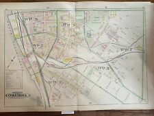 COPY OF 1899 COLUMBIA LANCASTER PA PLATS 64-65 ATLAS MAP