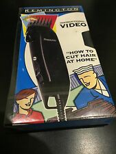 HOW TO CUT HAIR AT HOME VHS VIDEO