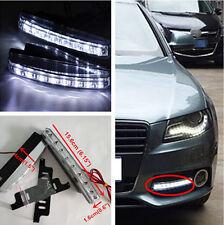 2x Euro Daytime Running Light 8LED DRL Daylight Fog Lamp Day Lights For Volvo