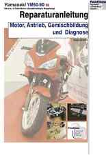 Reparaturanleitung RIS Yamasaki YM50-9D Motor Antrieb, Gemischbildung + Diagnose