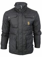Popper Nylon Funnel Neck Coats & Jackets for Men
