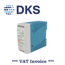 Meanwell MDR-40-24 40W 24 Vcc/1.7A PSU Guida DIN montato 000030