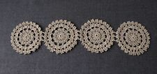 ANTIQUE CROCHETED FLOWERS LACE   #7079