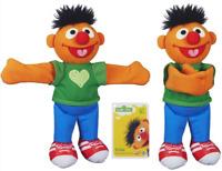 Sesame Street Playskool Hugs Forever Friends Plush Figure Ernie 9″ - NEW