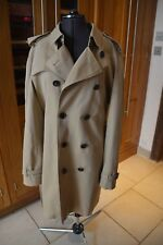 Immaculate Burberry Prorsum Heritage Trench Coat in Honey - Italian size 54R