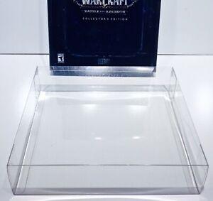 8 Box Protectors For Many WORLD OF WARCRAFT COLLECTORS EDITIONS Read Description