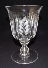 Antique Original Engraved Crystal & Cut Glass