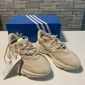 ADIDAS Ozweego Halitosis/linen/White Womens Originals Trainers Size 4 New In Box