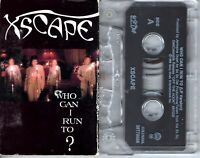Xscape Who Can I Run To 1993 Cassette Tape Single Pop Dance Rock