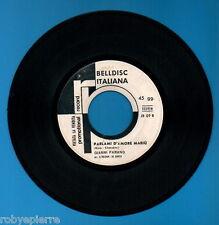 """45 giri 7"""" JB 09 B Parlami d'amore mariù gianni farano stoned soul picnic PROMO"""