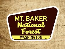 "Mount Baker National Forest Decal Sticker 3.75"" x 2.5"" Washington Park Vinyl Mt."
