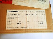 LIEBHERR 975881401 EXCAVATOR CONTROL FACTORY SEALED 00C/28071