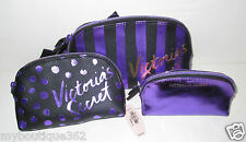 VICTORIA'S SECRET MAKE UP BAG/ORGANIZER SET OF 3 NEW WITH TAG