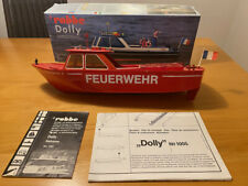 Robbe Dolly Barkasse Feuerlöschboot Feuerwehr RC Boot Bausatz 1005