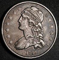 1832 CAPPED BUST QUARTER - BETTER DATE!