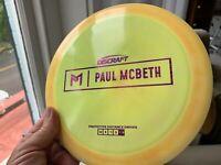 Discraft Paul McBeth First Run Disc Golf Innova  Kong Zeus Proto OOP PDGA