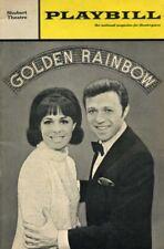 GOLDEN RAINBOW STEVE LAWRENCE GORME BROADWAY PLAYBILL