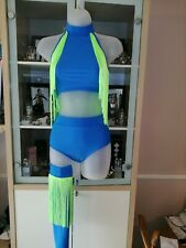 Disco freestyle dance costumes