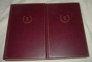 1928 CONFESSIONS OF JEAN-JACQUES ROUSSEAU 18th Century philosopher AUTOBIO 2vos