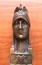 Original Minerva  ornament.vehicle mascot.bonnet Art  Deco Vintage 1920s  Signed