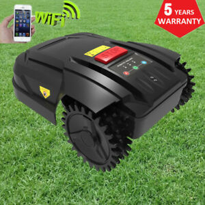 Robotic Lawn Mower Electric Wheeled Lawnmower Automatic Rotary - Up to 800 m² UK
