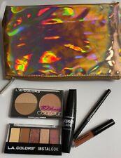 L.A. Colors Insta Beauty 6Pc Travel Makeup Set with Deluxe Makeup Bag $35 Value