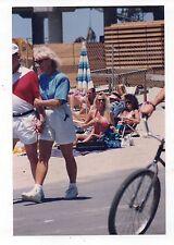 Vtg 4x6 Photo Pretty Women Bikini Bathing Suit Beach 1990's Sep16 n