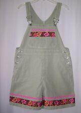 Womens ladies Custom boutique short overalls size M