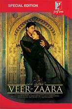 Veer-Zaara (Hindi DVD) (2004)(English, Arabic Subtitles)(Brand New Original DVD)