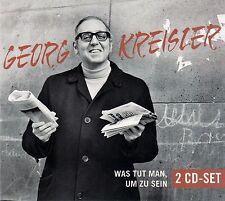 GEORG KREISLER : WAS TUT MAN, UM ZU SEIN / 2 CD-SET - TOP-ZUSTAND