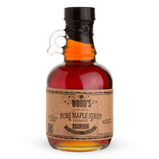 Wood's Bourbon Barrel Aged Pure Vermont Maple Syrup - 8 oz - Cocktails & Mixing