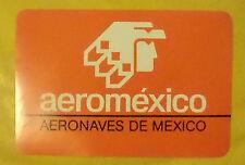 VECCHIO ADESIVO - AEROMEXICO - ANNI 80 (CC2)