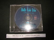 CD Pop Holly Cole Trio - I Can See Clearly Now (1Song) Promo CAPITOL REC