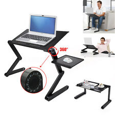 "Support Table Tablette Lit Pliable 360°inclinable PC Laptop Portable 14"" 15"" 16"""