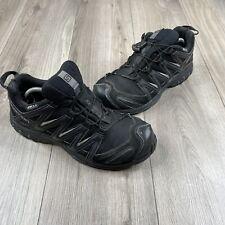 New listing Salomon XA pro 3D Mens Size 10 Black Gray Trail Hiking Shoes Sneakers