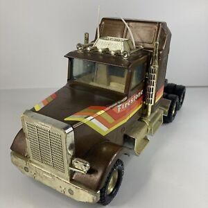 Vintage Nylint Firestone Steel Radial Express Semi Truck CAB ONLY