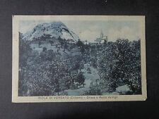 CARTOLINA BOLOGNA RIOLA DI VERGATO ROCCA VIAGGIATA DEL 1934 SUBALPINA AAA