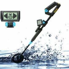Underground Metal Detector Waterproof Adjustable Length all Metal Detector Black